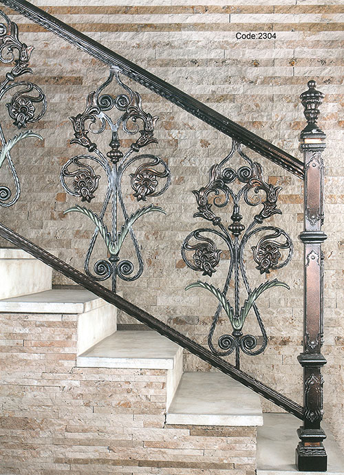 Traditional Staircase, Iron Staircase ...