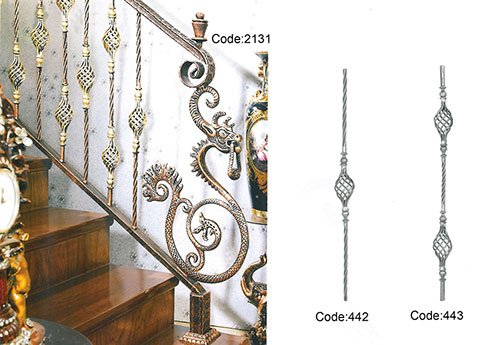 staircase grill designs